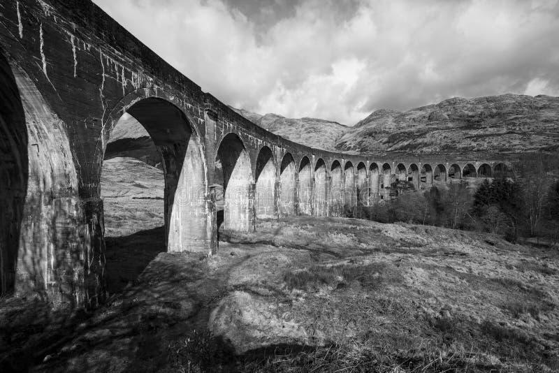 Viaduct de Glenfinnan imagens de stock