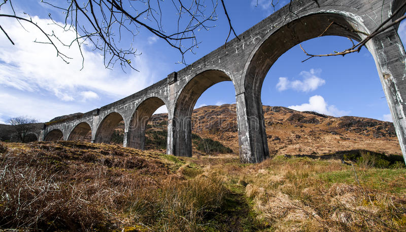 Viaduct de Glenfinnan imagens de stock royalty free