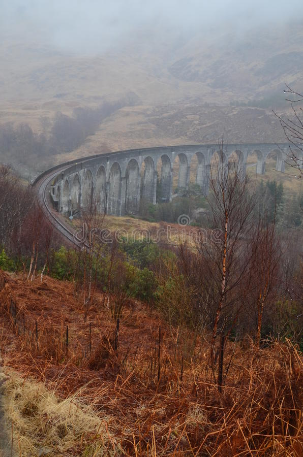 Viaduct de Glenfinnan imagem de stock
