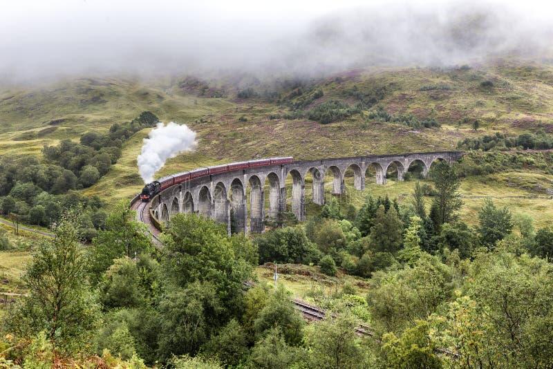 Viaduct de Glenfinnan imagem de stock royalty free