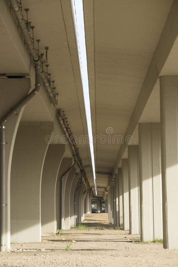 Viaduct royalty-vrije stock foto