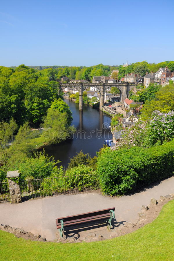 Download Viaduct View From Hill, Knaresborough, England Stock Photo - Image: 25123506