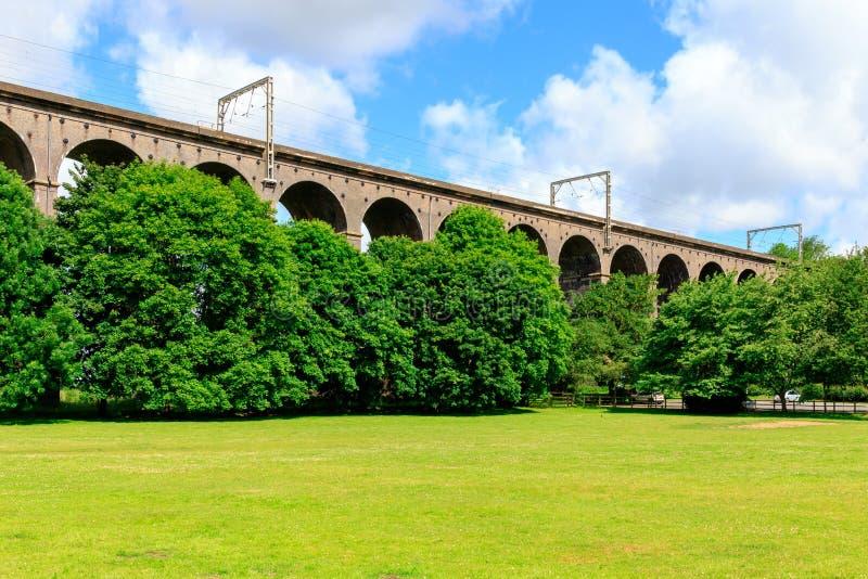 Viaducto de Digswell en el Reino Unido foto de archivo libre de regalías