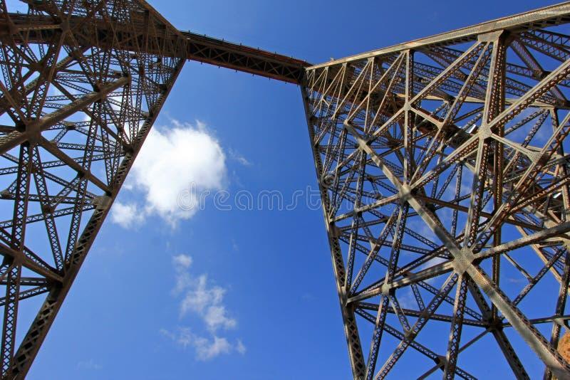 Viaducto de Polvorilla del La, Tren un Las Nubes, al noroeste de la Argentina imagenes de archivo