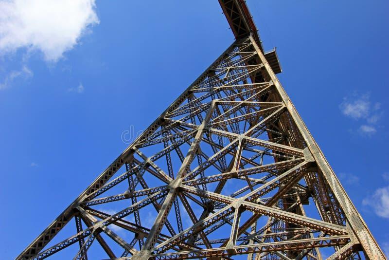 Viaducto de Polvorilla del La, Tren un Las Nubes, al noroeste de la Argentina foto de archivo