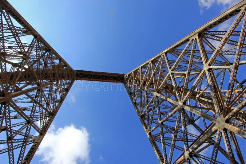 Viaducto de Polvorilla del La, Tren un Las Nubes, al noroeste de la Argentina fotos de archivo libres de regalías