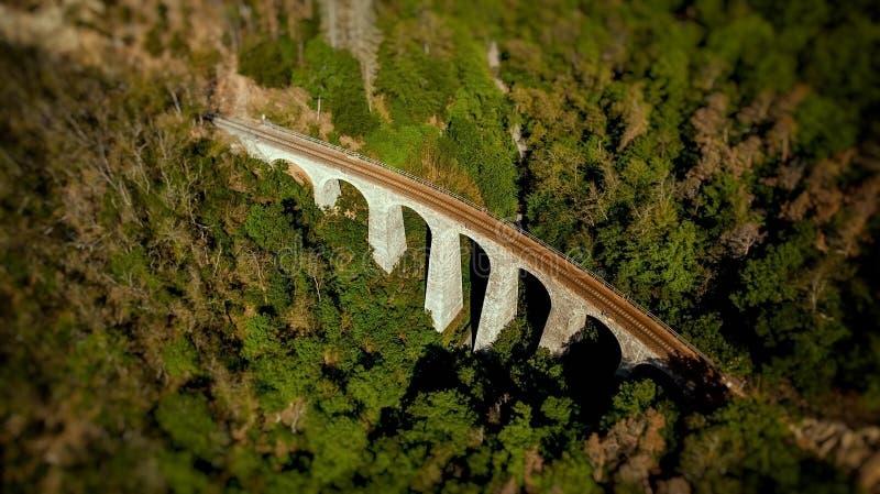 Viaducto de Zampach fotos de archivo libres de regalías