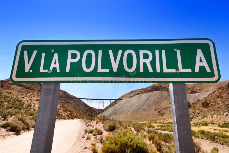Viaducto La Polvorilla arkivfoto