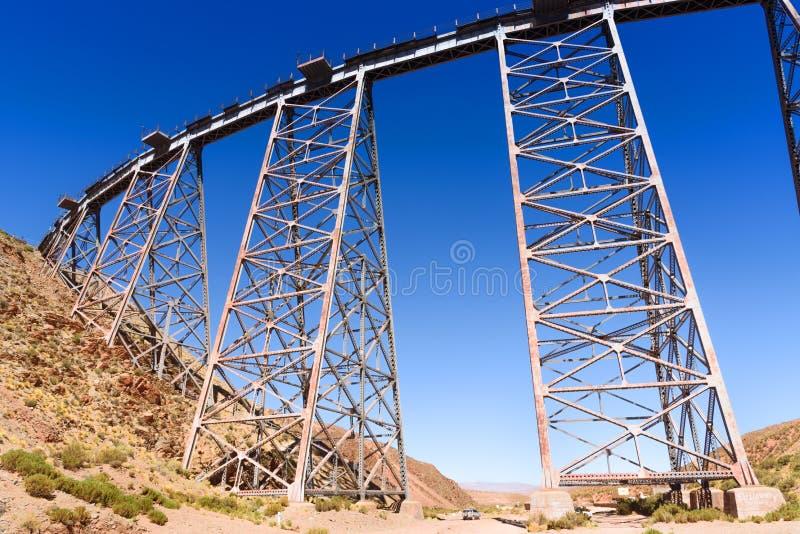 Viaducto La Polvorilla stock photo