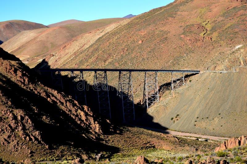 Viadukt polvorillaen arkivfoton