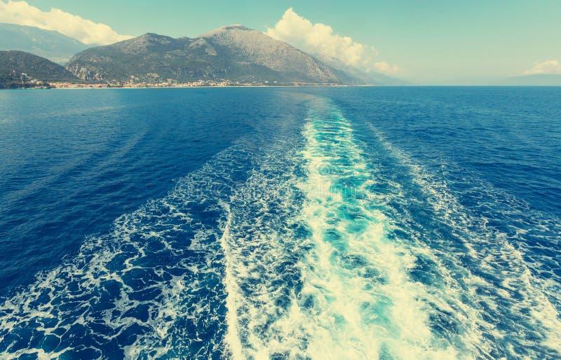 Viagem do barco fotos de stock