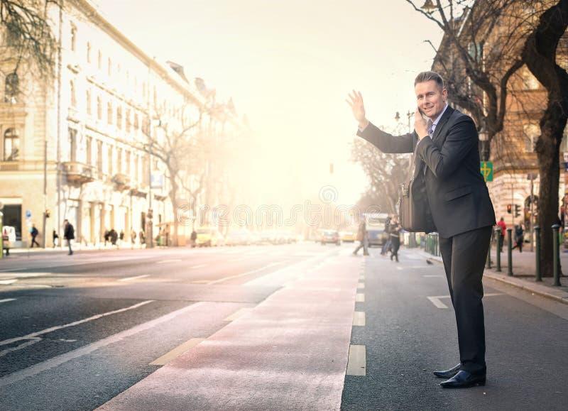 Viagem do homem de negócios foto de stock royalty free