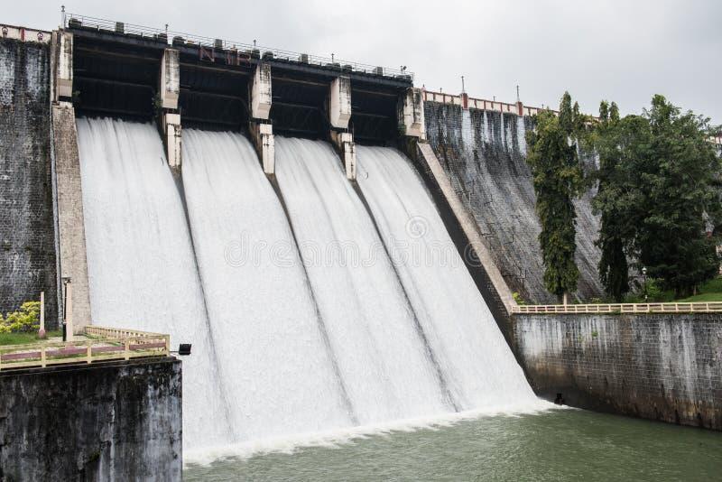 Viagem do reservatório de Neyyar fotos de stock