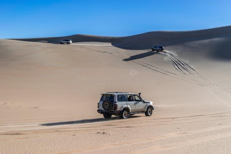 Viagem do safari no deserto de Siwa, Egito imagens de stock