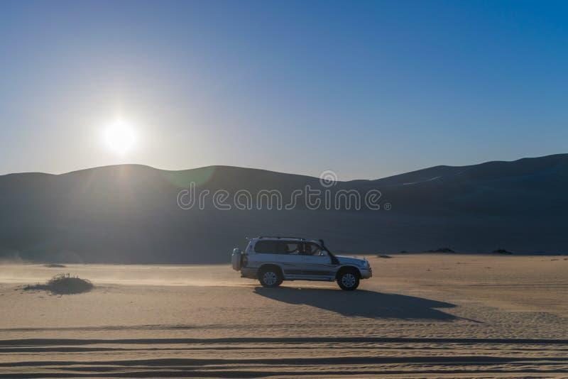 Viagem do safari no deserto de Siwa, Egito fotografia de stock royalty free