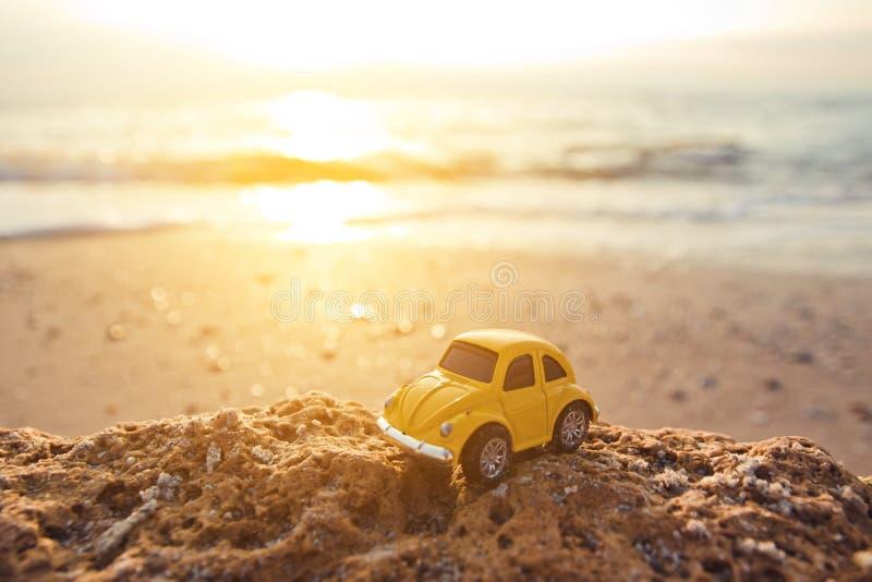Viagem do verão pelo carro ao mar fotografia de stock royalty free