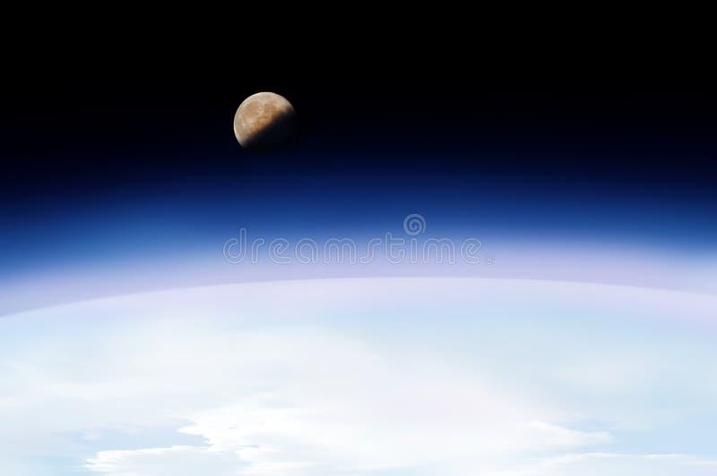 Viagem espacial ilustração royalty free