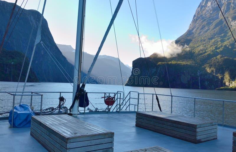 Viagem pelo barco imagens de stock