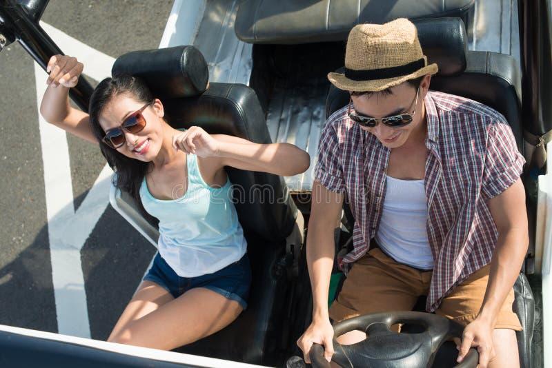 Viagem pelo carro imagens de stock royalty free