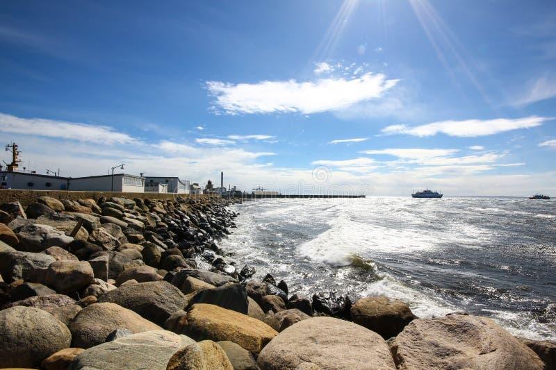 Viagem pelo ferryboat fotos de stock royalty free