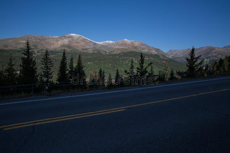 Viagem por estrada Colorado imagens de stock
