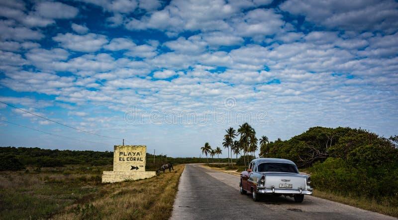 Viagem por estrada da praia fotos de stock royalty free