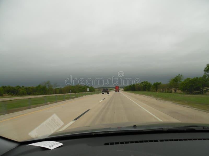 Viagem por estrada de Oklahoma imagens de stock