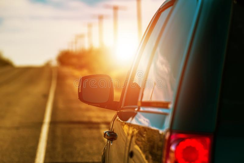 Viagem por estrada do verão fotografia de stock royalty free