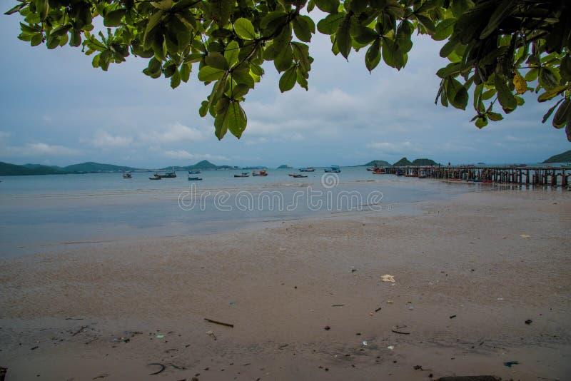 Viaggi in Asia, la spiaggia della cultura, spiaggia naturale fotografia stock libera da diritti