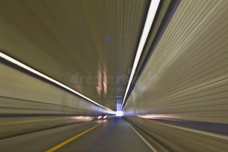 Viaggiando in traforo fotografia stock libera da diritti
