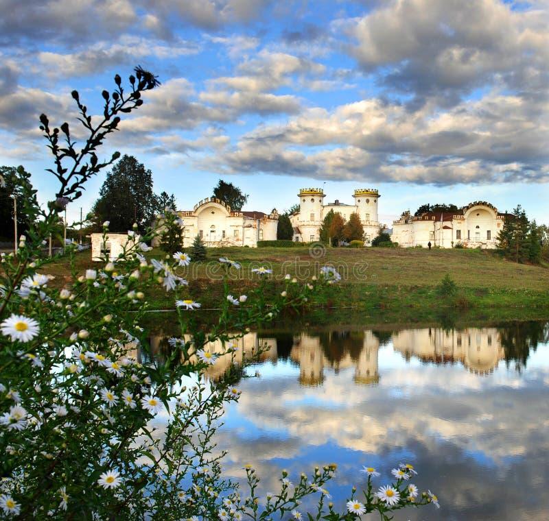 Viaggiando in Ucraina nella regione di Polesie fotografia stock