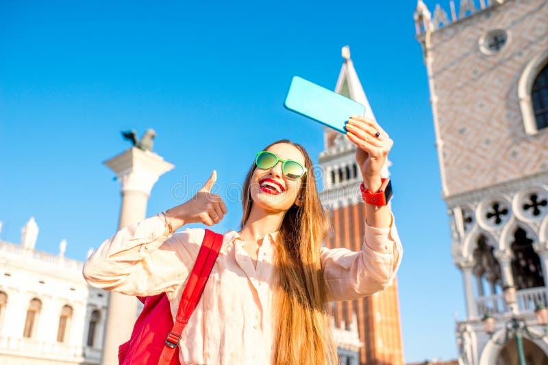 Viaggiando a Venezia fotografia stock libera da diritti