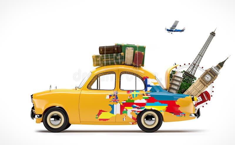 viaggiare royalty illustrazione gratis