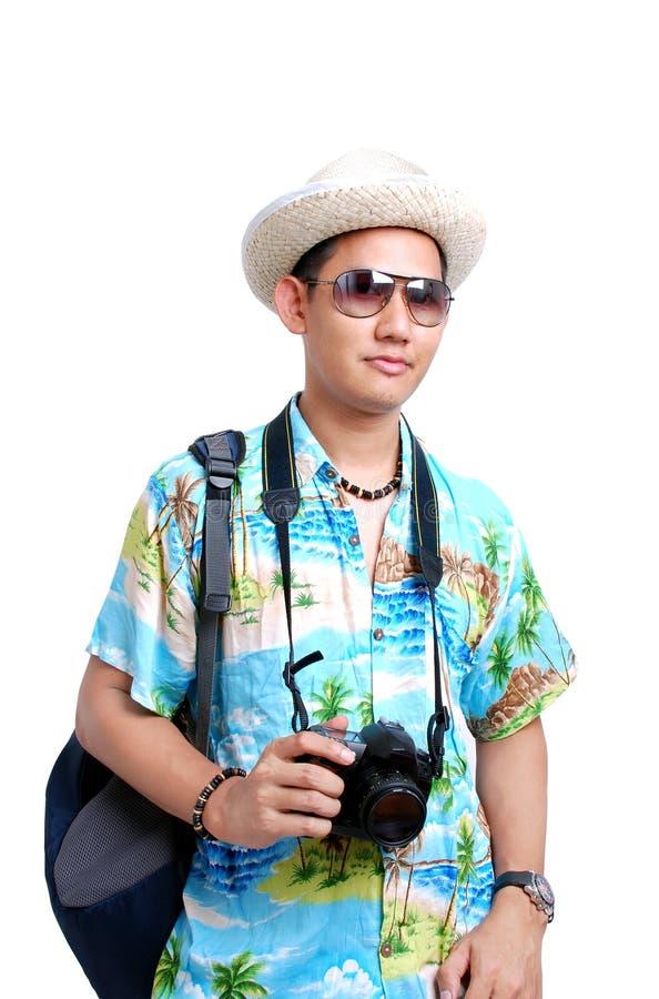 Viaggiatore fotografia stock libera da diritti