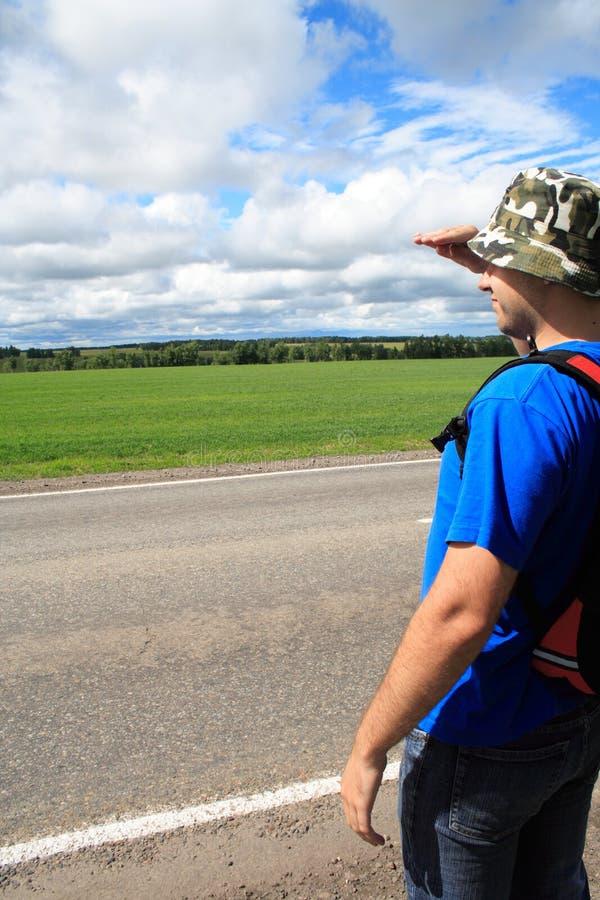 Viaggiatore fotografie stock libere da diritti