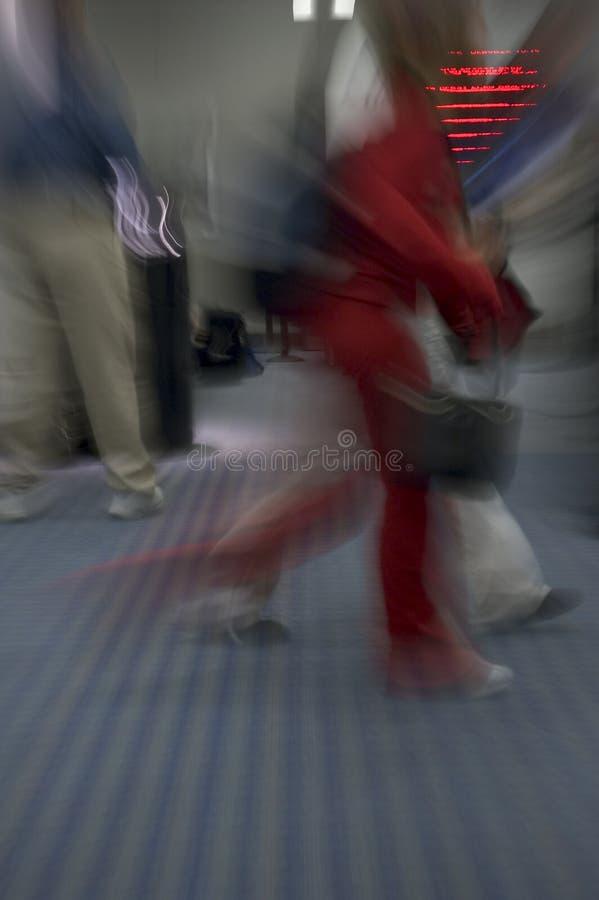 Viaggiatore Scorso Veloce Fotografia Stock Libera da Diritti