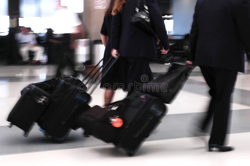 Viaggiatori dell'aria immagine stock libera da diritti