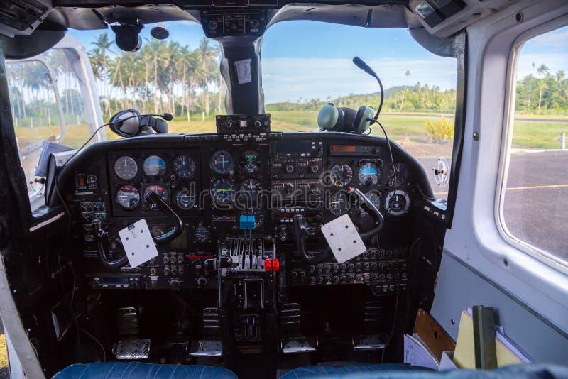 Viaggio æreo in Figi, Melanesia, Oceania E immagine stock