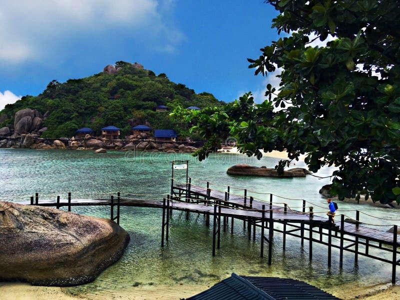Viaggio all'isola di samui del KOH dell'Asia Tailandia fotografie stock libere da diritti