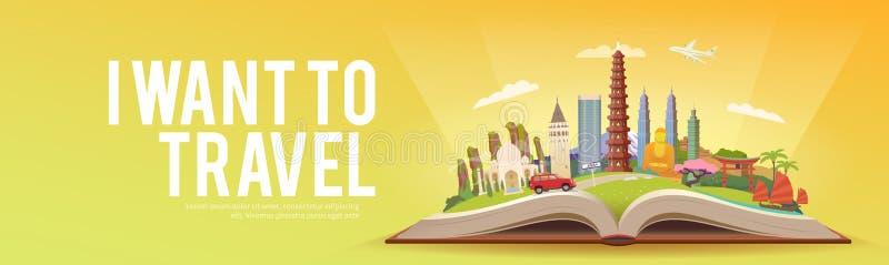Viaggio in Asia illustrazione vettoriale