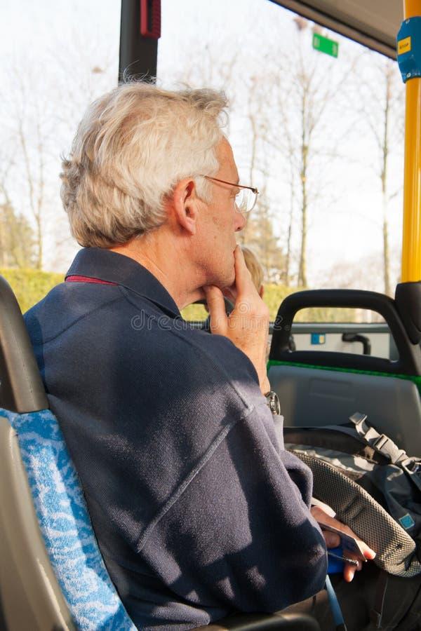 Viaggio in bus fotografie stock libere da diritti