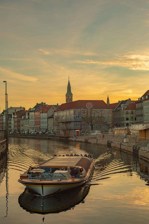viaggio a Copenhaghen immagini stock
