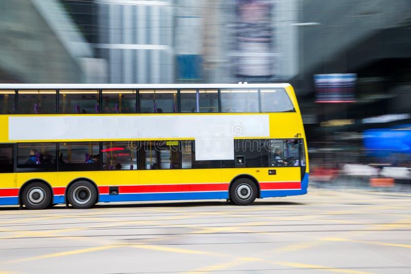 Viaggio del bus con moto vago fotografie stock