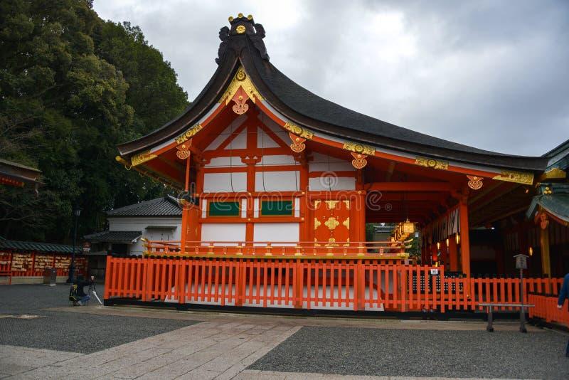 Viaggio del Giappone, santuario di Fushimi Inari, aprile 2018 fotografia stock libera da diritti
