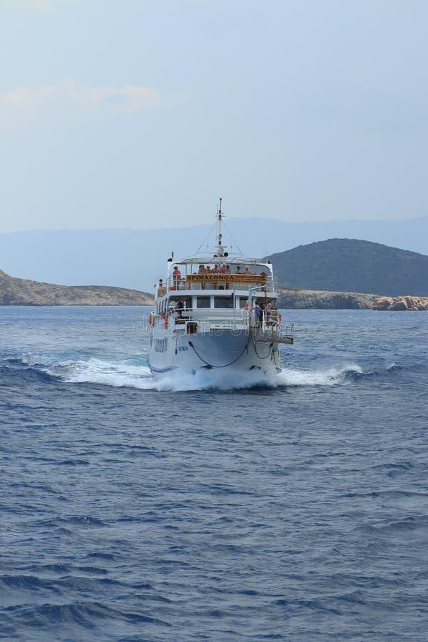 Viaggio del mare fotografie stock