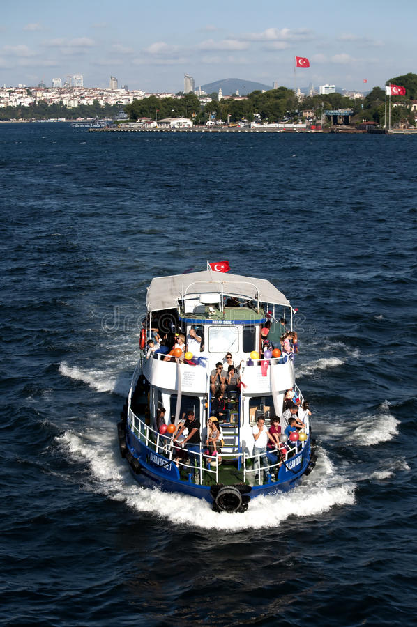 Viaggio della barca immagini stock libere da diritti