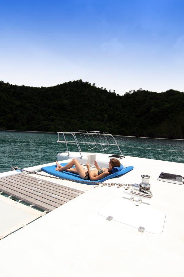 Viaggio della barca immagine stock