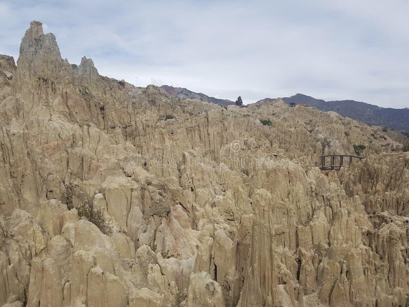 Viaggio della Bolivia fotografia stock