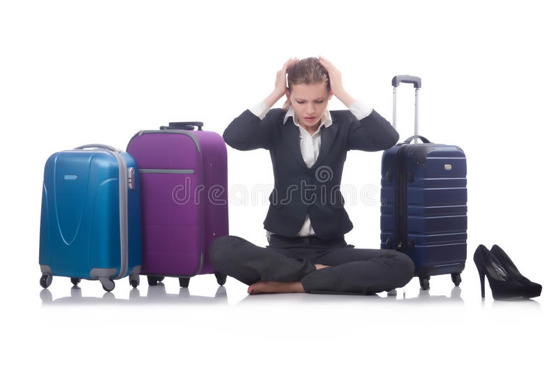 Viaggio della donna di affari