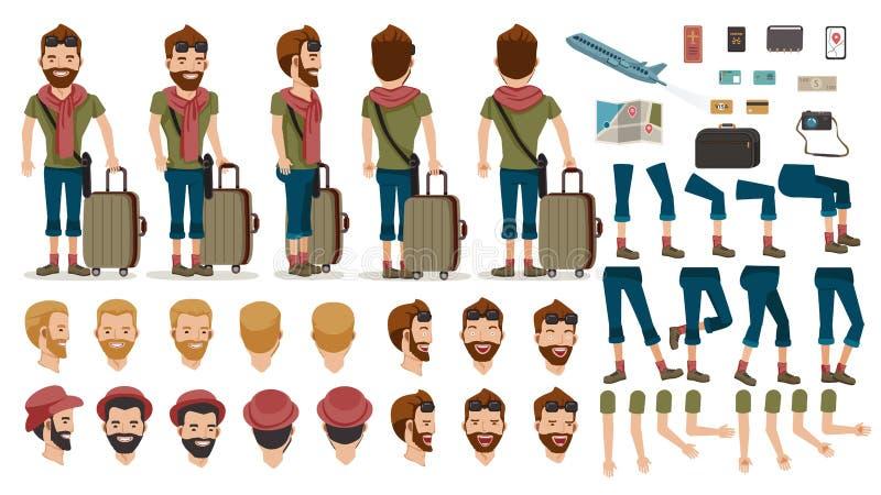 Viaggio della gente illustrazione vettoriale